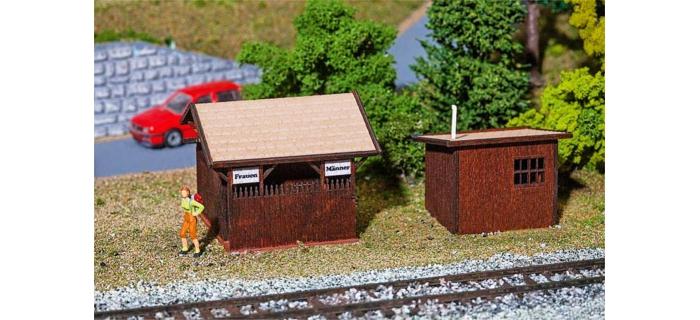 Train électrique : FALLER F130182 - Toilettes et bains de Stugl-Stuls