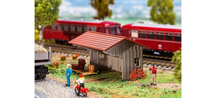 Train électrique : FALLER F 130185 - Abris en bois