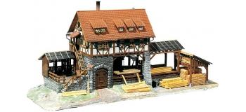 maquette FALLER 130229 - modelisme ferroviaire Moulin avec scierie
