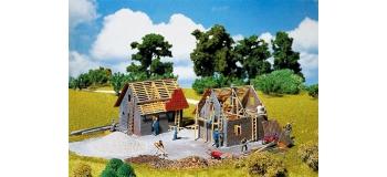 Modélisme ferroviaire : FALLER F130246 - Maison en construction.