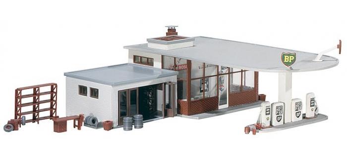 station service bp f130347 faller maquettes de batiments easy miniatures. Black Bedroom Furniture Sets. Home Design Ideas