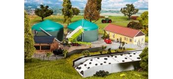 Train électrique :  FALLER F130468 - Unité biogaz