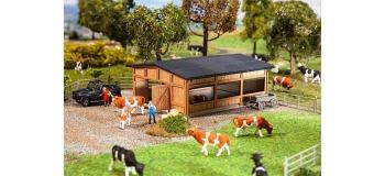 Train électrique :  FALLER F130547 - Abri de bétail
