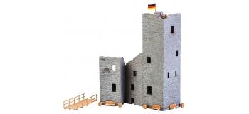 Modélisme ferroviaire : FALLER F130585 - Ruine de château