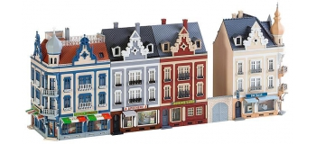 FALLER F130701 - Ensemble de maisons rue Beethoven