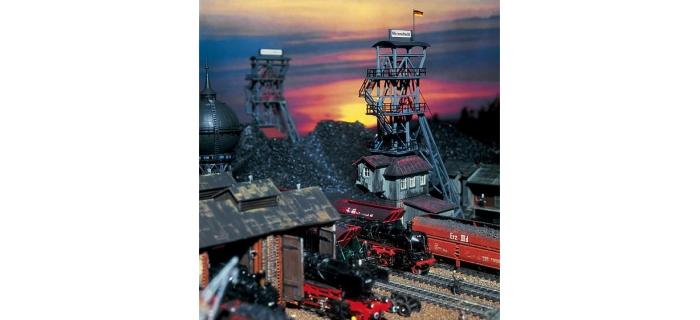 modelisme ferroviaire faller 130945 Chevalement De Mine