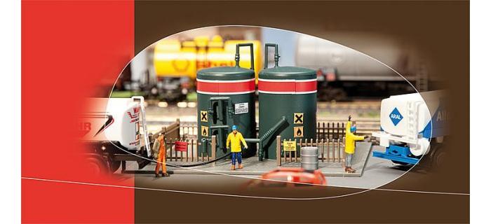 faller 131268 2 réservoirs de stockage modelisme ferroviaire