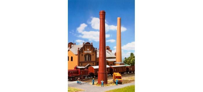 Train électrique :   FALLER F131271 - Cheminée d'usine