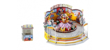 Modélisme ferroviaire : FALLER F140424 - Attraction crazy clown