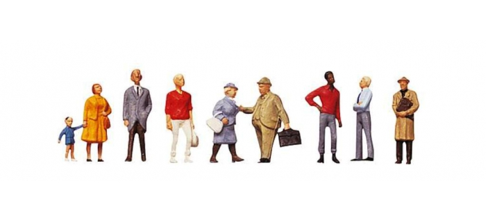 Modélisme ferroviaire : FALLER F150901 - Set passants I Figurines
