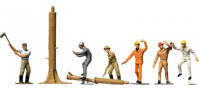 Modélisme ferroviaire : FALLER F151041 - Forestiers