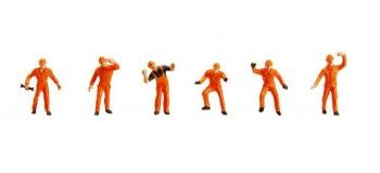 Modélisme ferroviaire : FALLER F151074 - Figurines personnel d'aiguillage