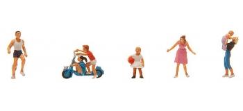 Train électrique : FALLER F151081 - Figurines Jeune famille