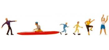 Modélisme ferroviaire : FALLER F151083 - Figurines Sport
