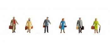 Modélisme ferroviaire : FALLER F153044 - Figurines voyageurs