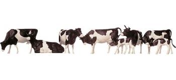 Modélisme ferroviaire : FALLER 154003 - Set Vaches Noires