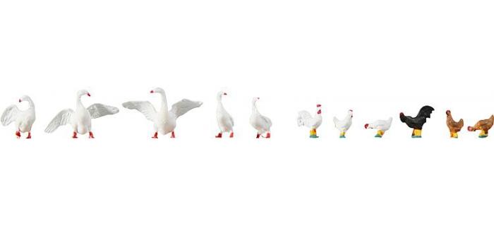 faller 154010 poules et oies
