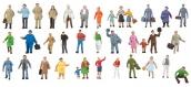 Modélisme ferroviaire : FALLER F155358 - Lot de complément à 36 figurines