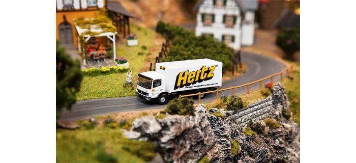 FALLER F161560 - Camion MB Atego Hertz (HERPA)