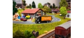 Train électrique : FALLER F161561 - Camion MB Atego Sixt (HERPA)