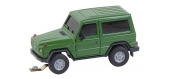 Modélisme ferroviaire : FALLER F161562 - SUV MB Classe G livrée vert