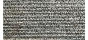 modelisme ferroviaire faller 170603 Plaque de décor, mur en pierres naturelles