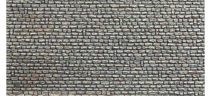 plaque de d cor mur en pierres naturelles f170603 faller murs et clotures easy miniatures. Black Bedroom Furniture Sets. Home Design Ideas