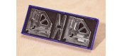 Modélisme ferroviaire : FALLER F170681 - Set angles Rite-Way