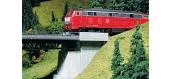 Train électrique : FALLER F180403 - Garde-fou en fer