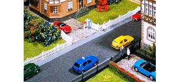 Modélisme ferroviaire : FALLER F180410 - Clôture de jardin avec portes