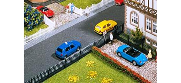 Modélisme ferroviaire :  FALLER F180411 - Clôture de jardin en fer