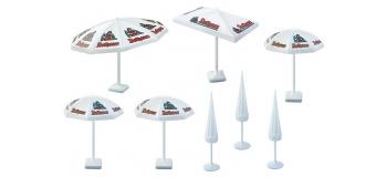 Modélisme ferroviaire :  FALLER F180440 - parasols