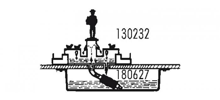 faller 180627 pompe à eau électrique
