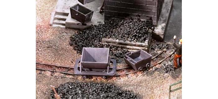 Modélisme ferroviaire : FALLER F180916 - Wagonnets 2 berlines