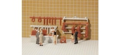 Modélisme ferroviaire : FALLER F180974 - Aménagement boucherie