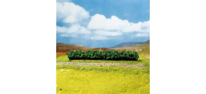 Train électrique : FALLER F181350 - 3 Haies PREMIUM, vert clair