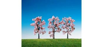 Train électrique : FALLER F181406 - 3 Cerisiers en fleurs