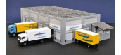 Modélisme ferroviaire : FALLER F190247 - Centre logistique Chronopost