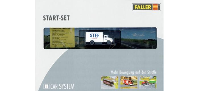 Modélisme ferroviaire : FALLER F191645 - Start Car system Saviem STEF