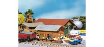 Modélisme ferroviaire : FALLER 222117 - Remise à marchandises