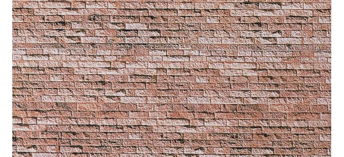 Modélisme ferroviaire : FALLER - F222563 - Plaque de décor, mur en basalt