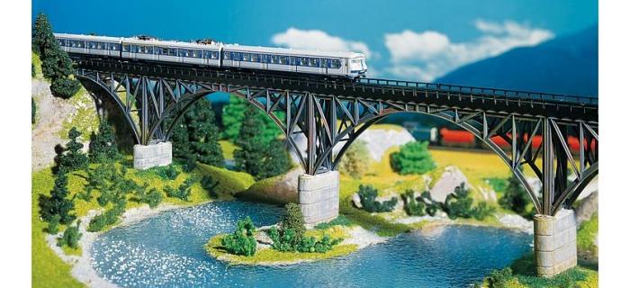 faller 222581 pont métallique à arches