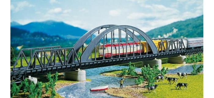 faller 222583 pont métallique en arc