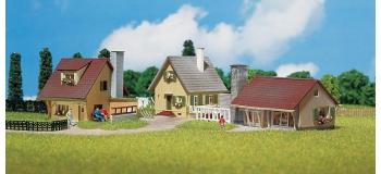 FALLER 232221 - Lot de 3 maisons individuelles