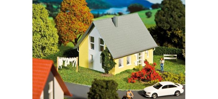 FALLER 232322 - Maison individuelle, jaune