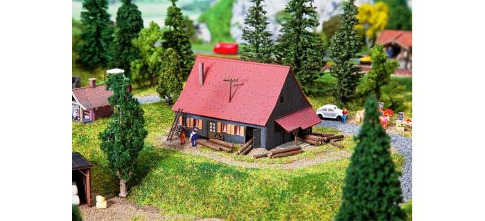 Modélisme ferroviaire : FALLER F232358 - Maison forestière
