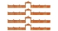 FALLER F272405 - Mur de fabrique