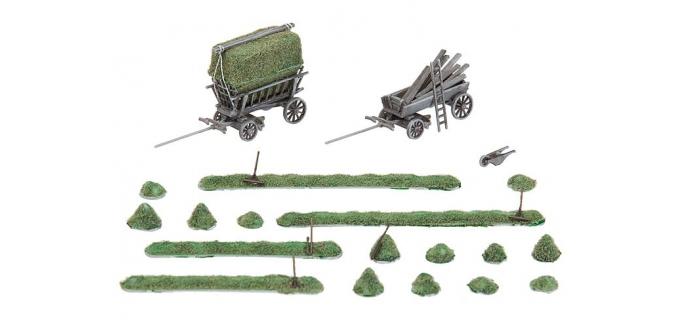 Modélisme ferroviaire : FALLER F272561 - Récolte des foins