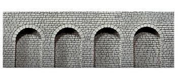 faller 271600 Mur en pierre de taille naturelle, avec arcades