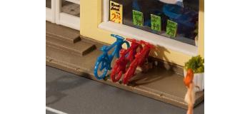 Modélisme ferroviaire :  FALLER F27290 - 8 bicyclettes
